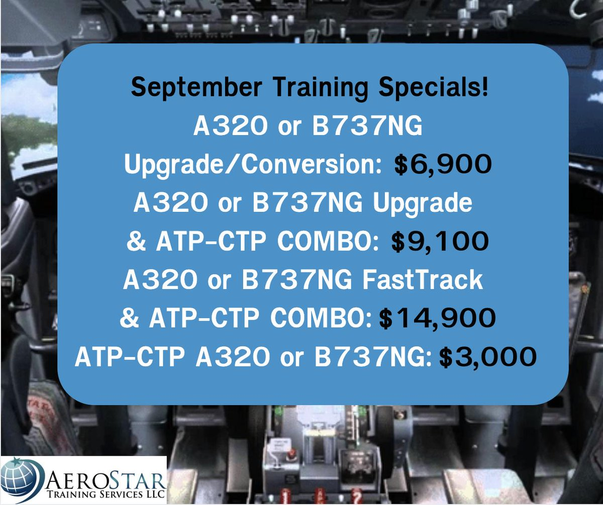 AeroStar Training (@AerostarFltCrew) | Twitter