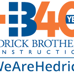 Image for the Tweet beginning: Thank you #HedrickBrothersConstruction for your