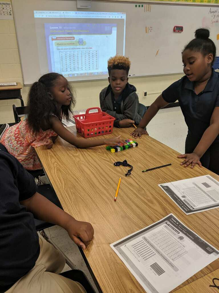 Hands on iReady math lessons on Day 3 in 3rd grade? Yes please! @dominique_and @BethuneES students are already participating in engaging and rigorous lessons. #FCSLearningStartsDay1 #BESDreamTeam #NewportsDreamTeam <br>http://pic.twitter.com/Z3zvqlRJ1T