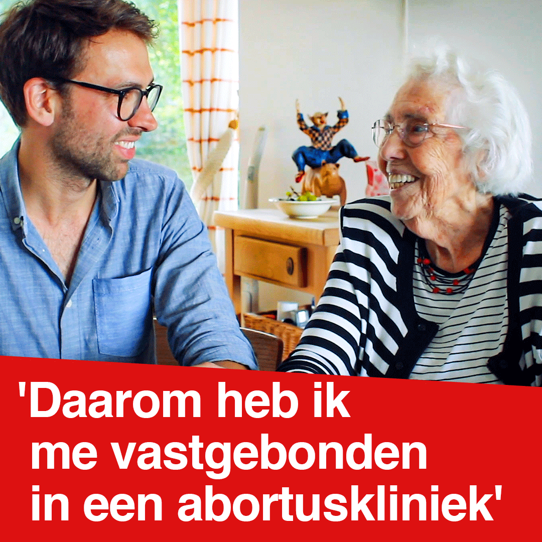 Image for the Tweet beginning: Waarom Hetty Niemeijer een abortuskliniek