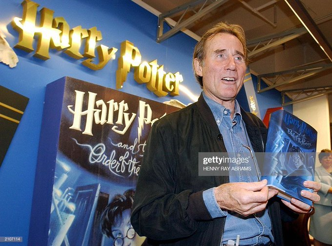 "Happy birthday, Jim Dale! Thank you for narrating the American editions of the ""Harry Potter\"" books for us!"