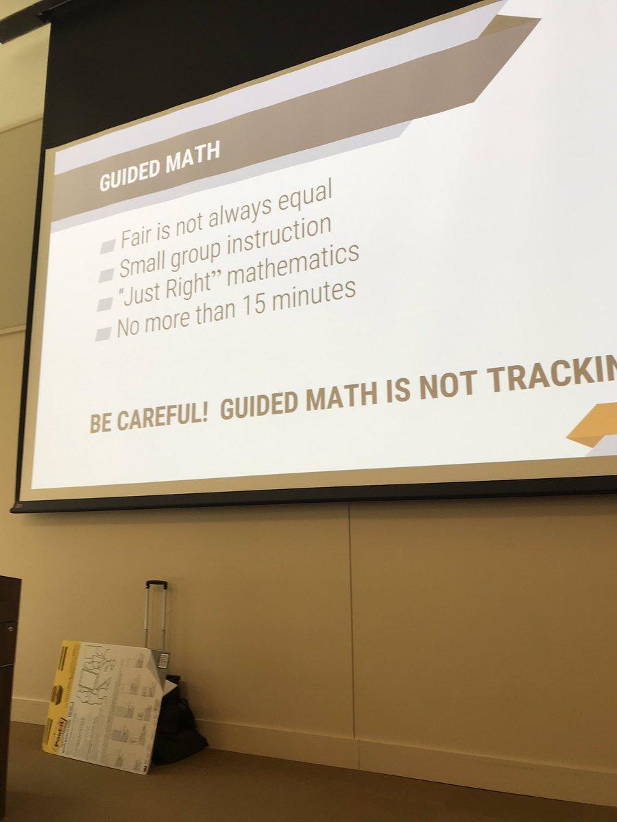 Guided math is...not tracking! #mathworkshop #mathinstitute @Lempp5
