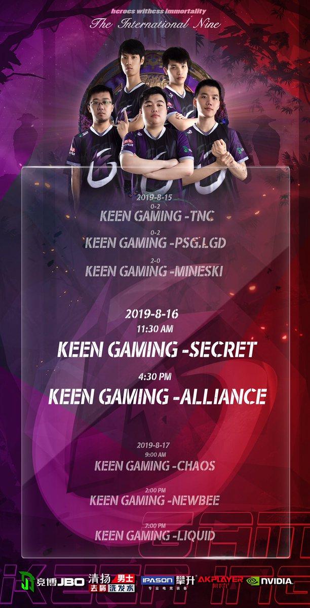 Keen Gaming (@Keen_GamingCN) | Twitter