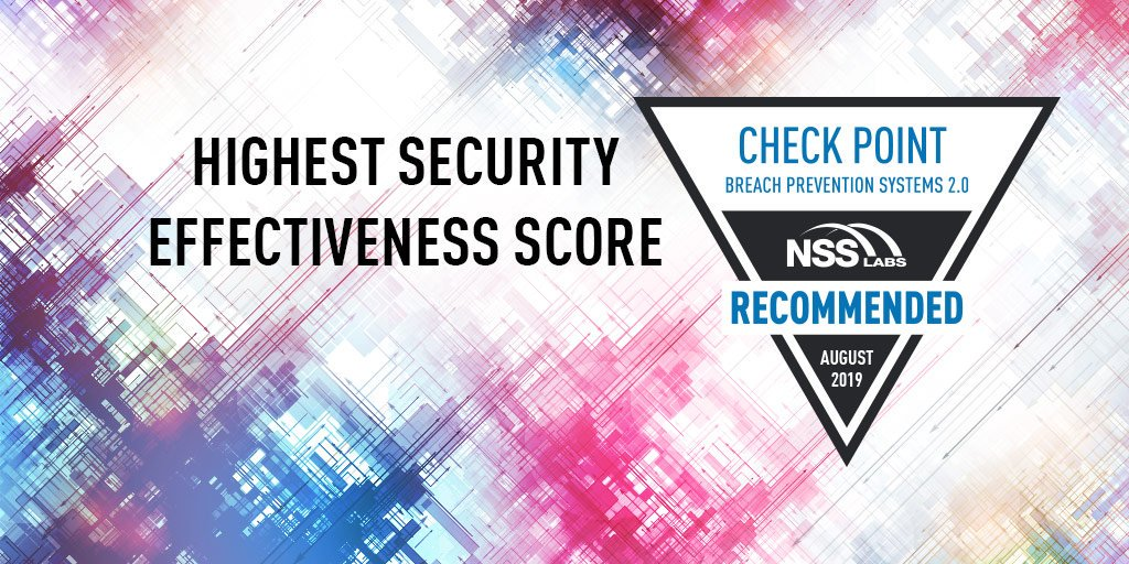 Check Point Software on Twitter: