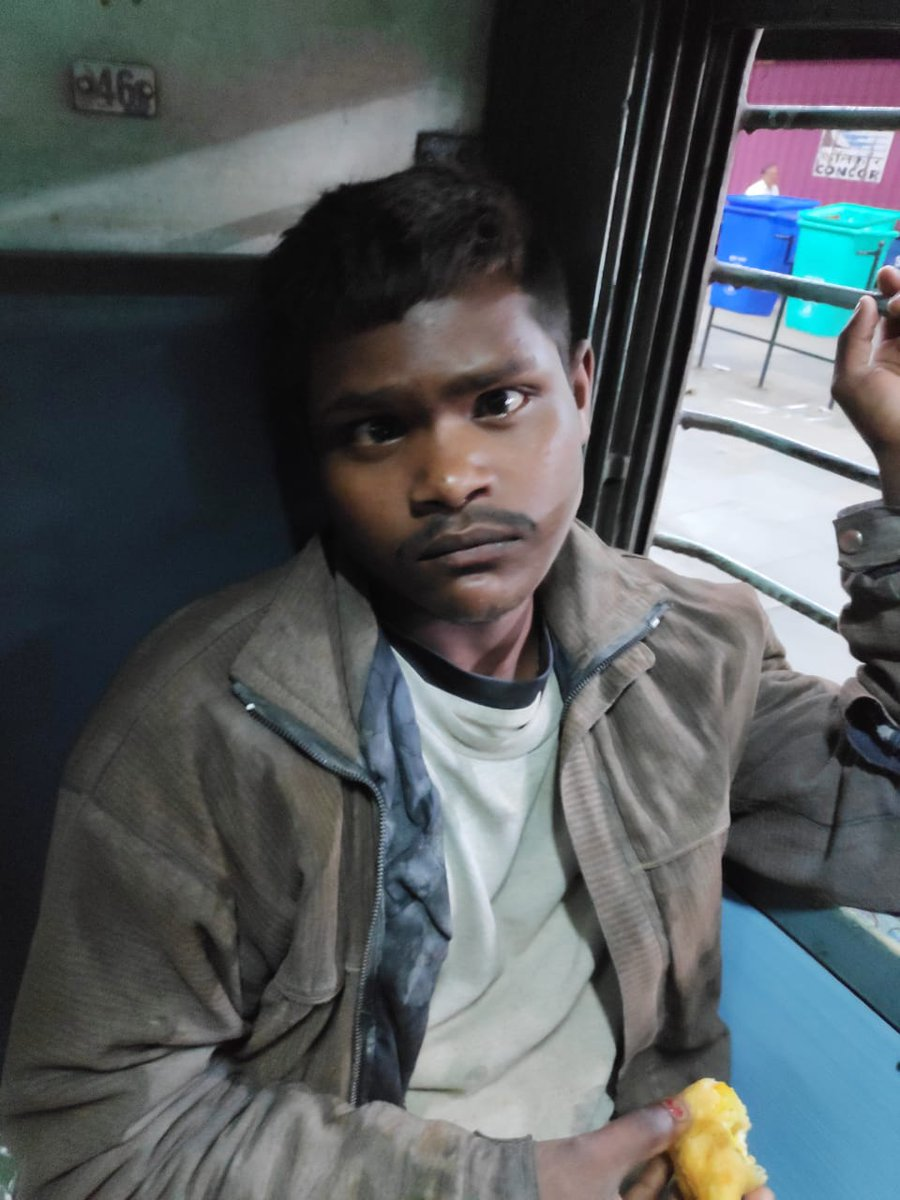 Today this boy Vicky, boarded GT exp (12615) frm Bhopal rlwy station - sleeper coach. Seems mentally sick. Don't remember address. Just said want to go Bihar, home.  Plz connect with NGO, which works in supporting missing people. #missingperson @indianrailway__   @RailMinIndia<br>http://pic.twitter.com/KG4KmIhz8R