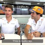 Grill The Grid is BACK!!!  We've loved seeing their antics this year... but the first episode of 2019 could spell disaster for @LandoNorris and @Carlossainz55's bromance 😱  Check out the full video here! >> https://t.co/4zlumuSCHi  #F1