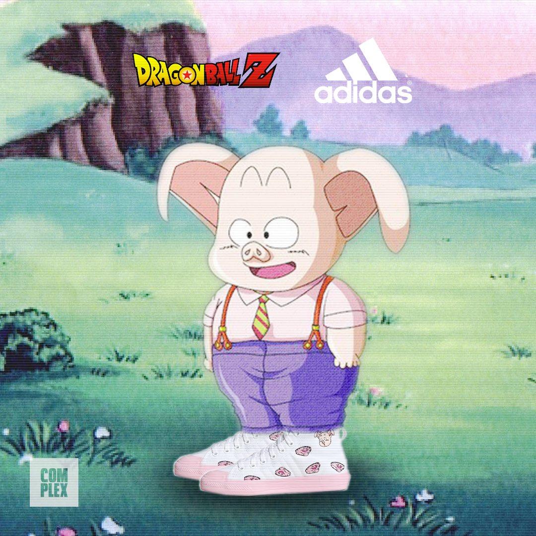 Dragon Ball Z and Adidas