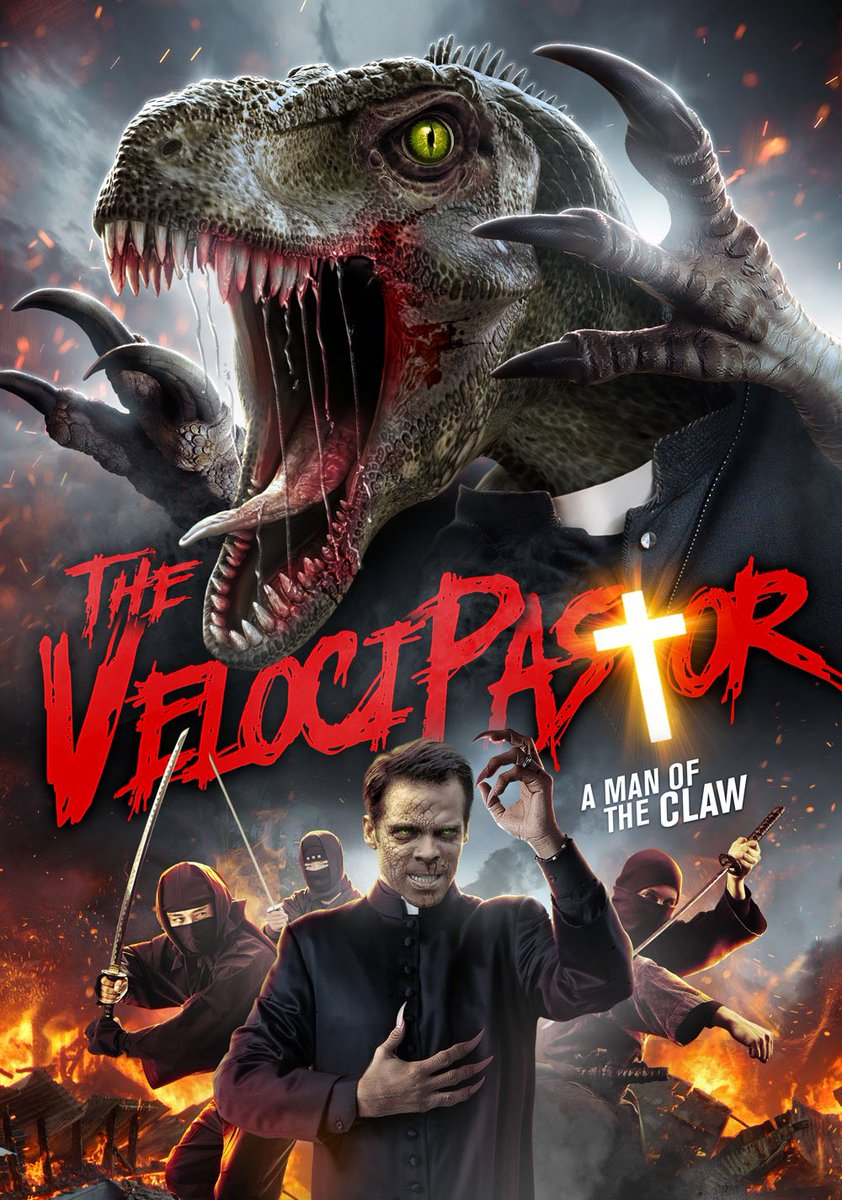 What happens when troubled priest turns into a dinosaur? Answer: VELOCIPASTOR!! 'The Man of the CLAW' himself, GREG COHAN sits down for an interview (amongst a few fossilized friends) at The La Brea Tar Pits. It's FUN!! Listen here & share! podcasts.apple.com/us/podcast/ent…