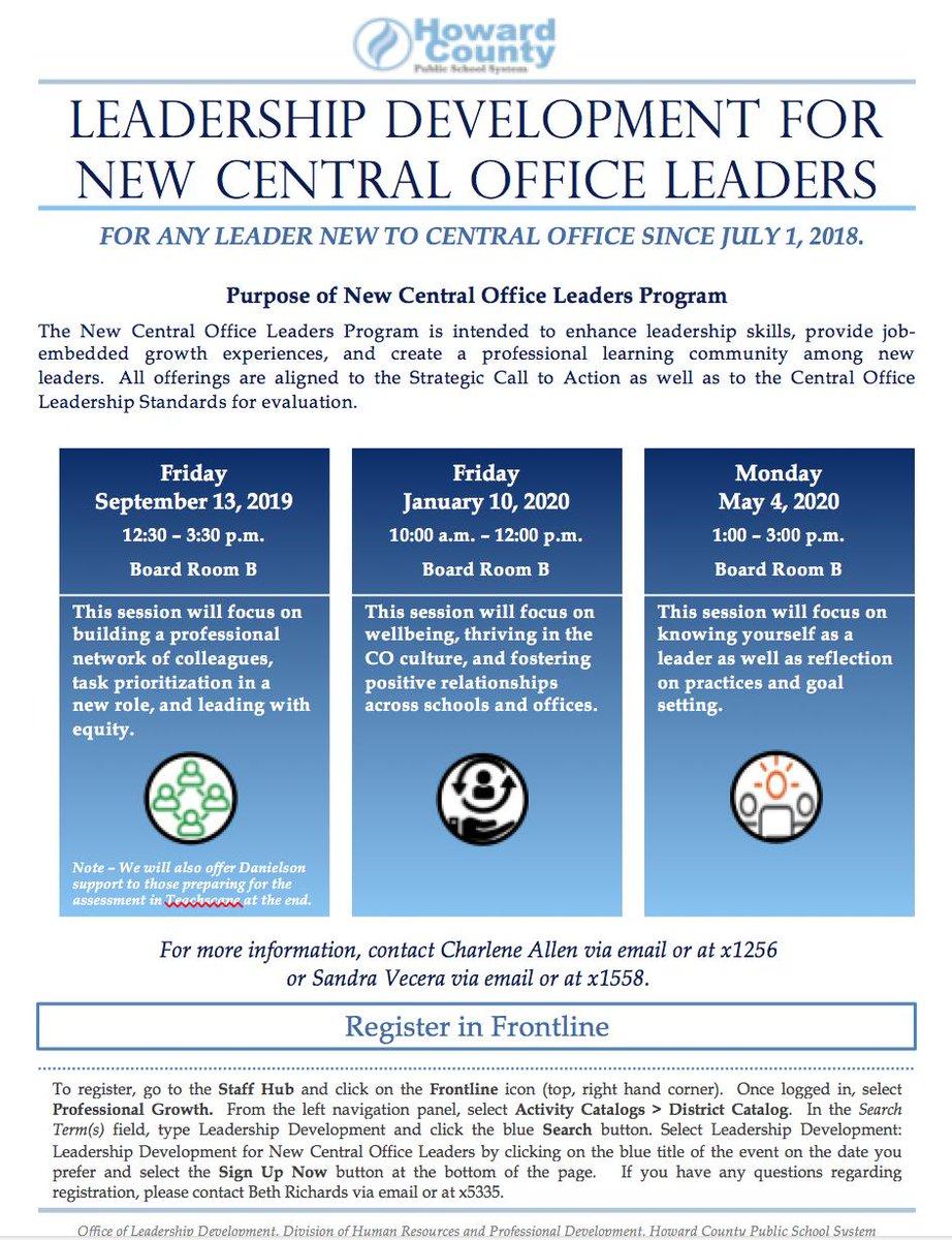 HCPSS Leadership Development (@HCPSS_LeaderDev) | Twitter