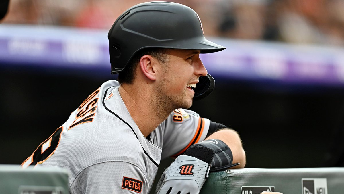 Sf Giants On Nbcs On Twitter Buster Posey Took A Trip Down
