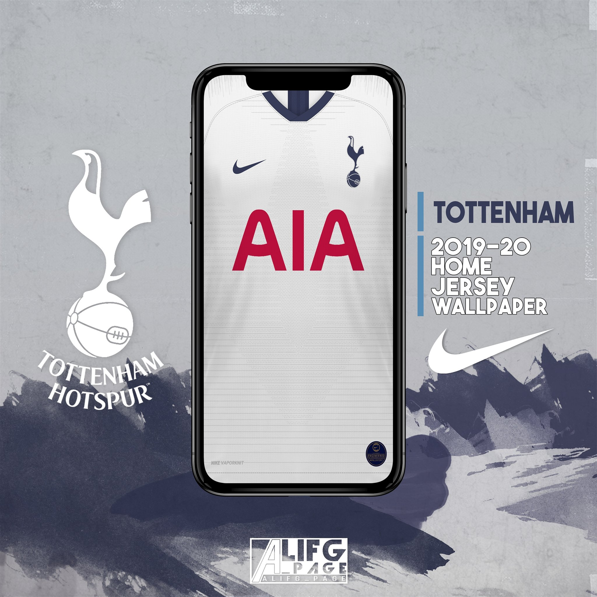 Alifg Page On Twitter Spursofficial 2019 20 Home Jersey Wallpaper Nikefootball