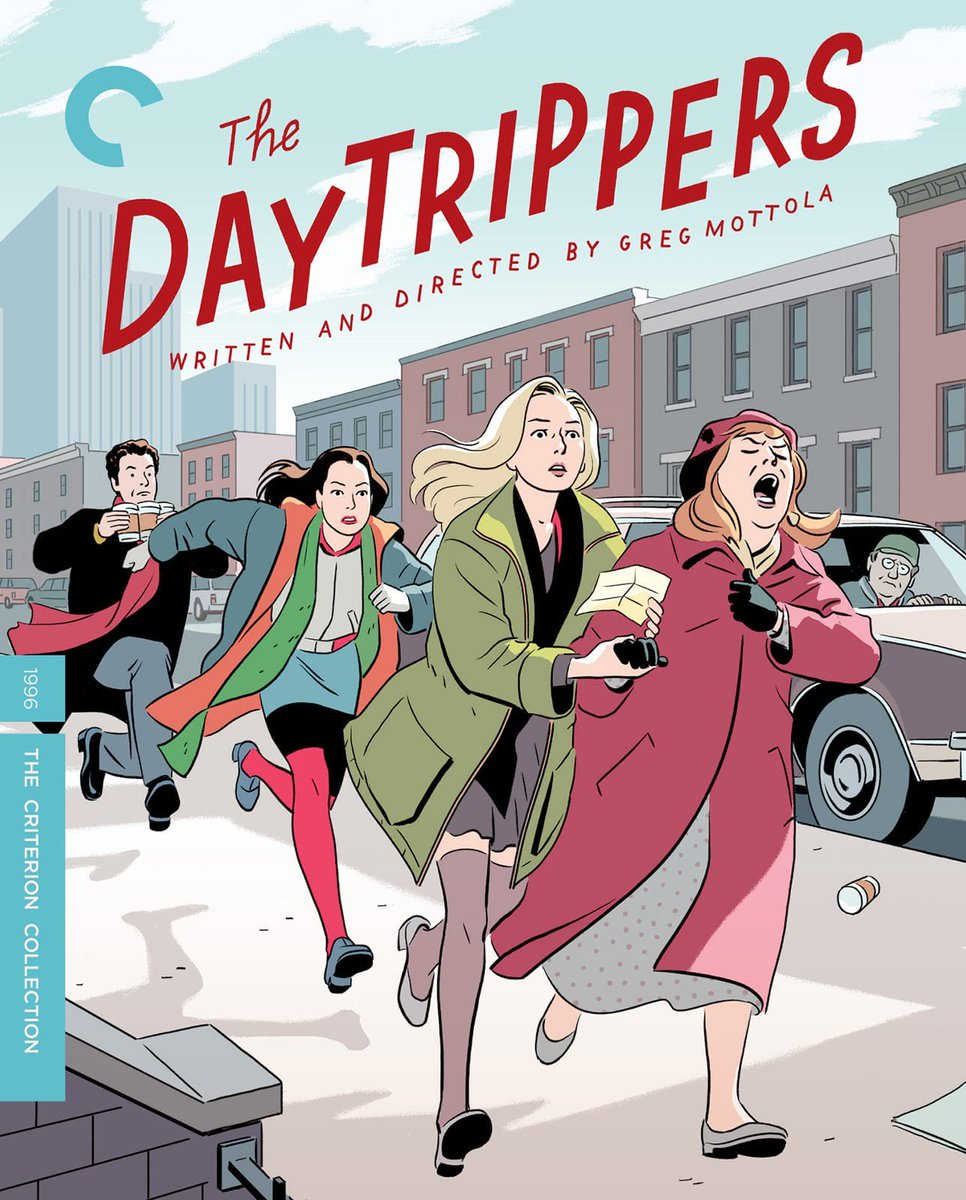 Some filmmakers dream about winning awards.  I dream about having one of my movies in the @Criterion Collection. Coming November 12!  https://www. criterion.com/films/29464-th e-daytrippers  …  #TheDaytrippers #NewYorkInTheNineties<br>http://pic.twitter.com/eXZsWGTbky