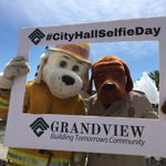 Image for the Tweet beginning: City Hall Selfie Day with