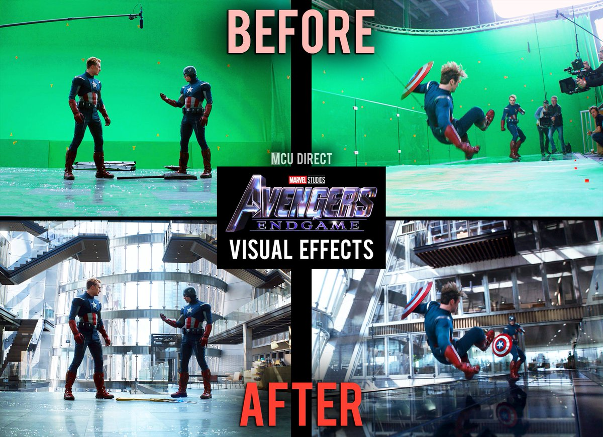 Steve Rogers vs. Captain America #AvengersEndgame