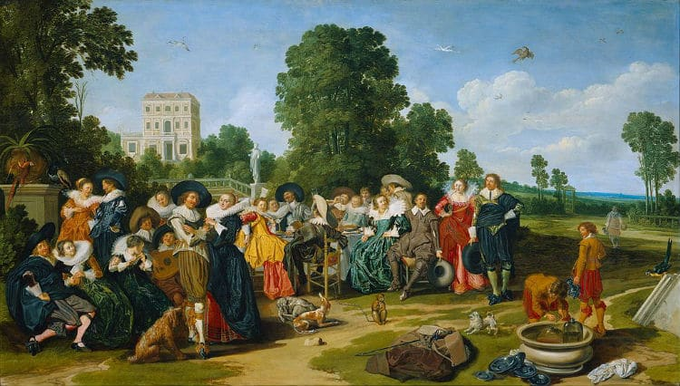 Thanks to @rijksmuseum for lifting copyrights on much of its #Art so we can all share the love. #NationalRelaxationDay #partyon  #17thCentury <br>http://pic.twitter.com/R1l3LrOmXB