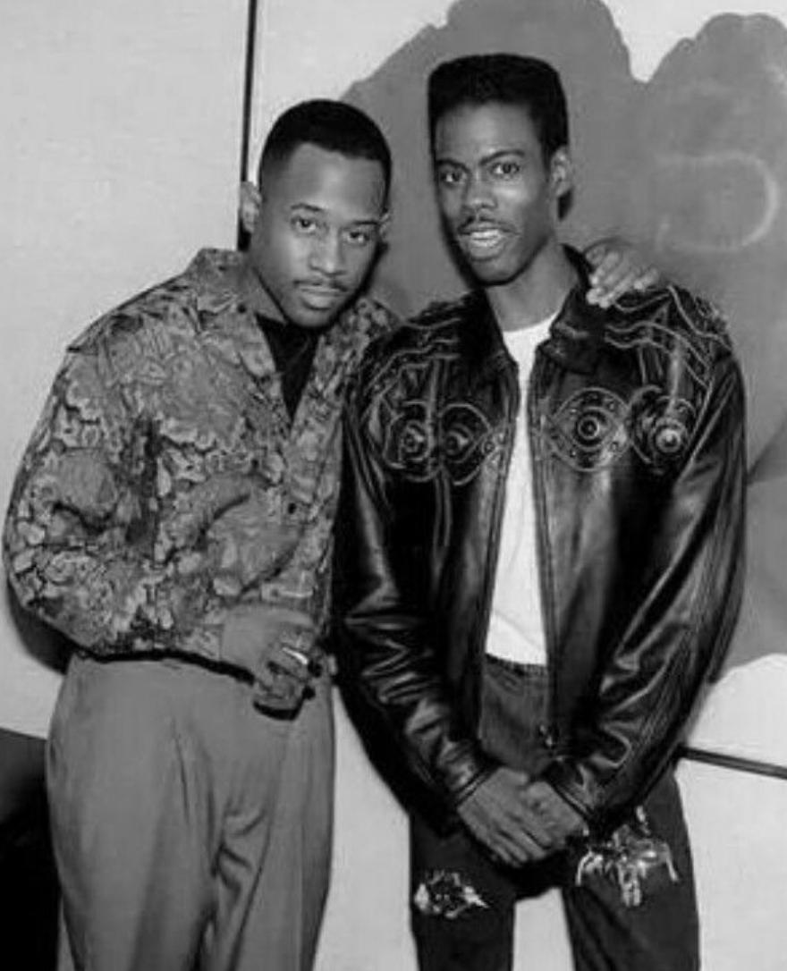2 legends of American comedy: Martin Lawrence & Chris Rock back in the early 90s. Run Tell Dat and Bring the Pain are two of the best stand-up specials ever! LOL 😂
