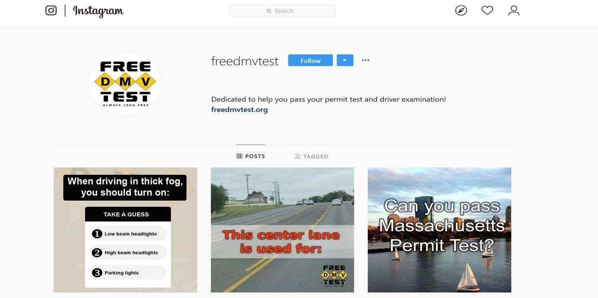 FreeDMVTest_ - freedmvtest Twitter Profile | Twitock