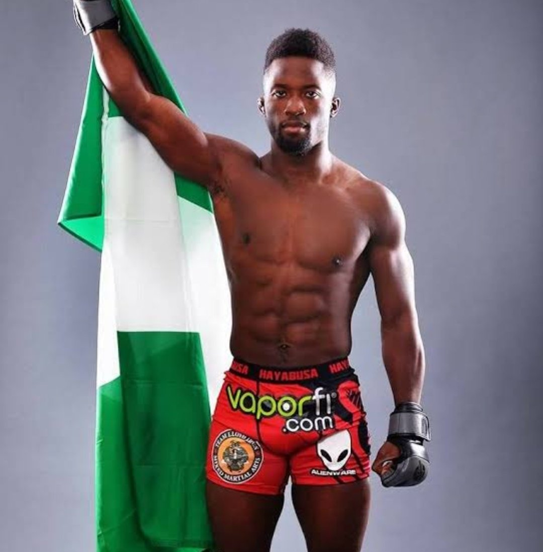 Super Sodiq Yusuf,  a Nigerian MMA fighter fighting this weekend at #ufc241. We wish you the best of luck.  @Super_Sodiq #nigeria #nigerians  @Gidi_Traffic