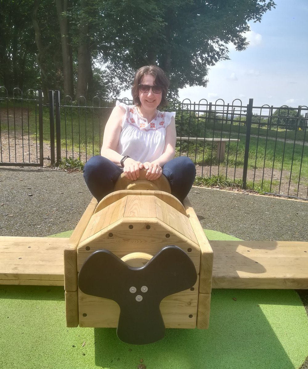 Sometimes, you have to put your camera down and play on the beautiful park hidden in the woods  #bigkid #ThursdayMotivation #sillyseason<br>http://pic.twitter.com/FH8GOAhest