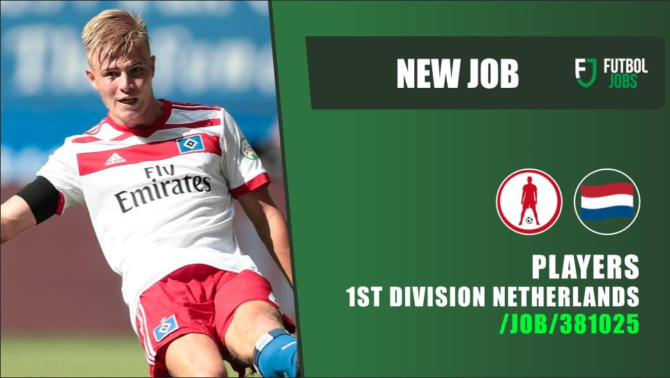⚽ NEW #JOB 🇳🇱 #Players for 1st Division of the #Netherlands. 👉…