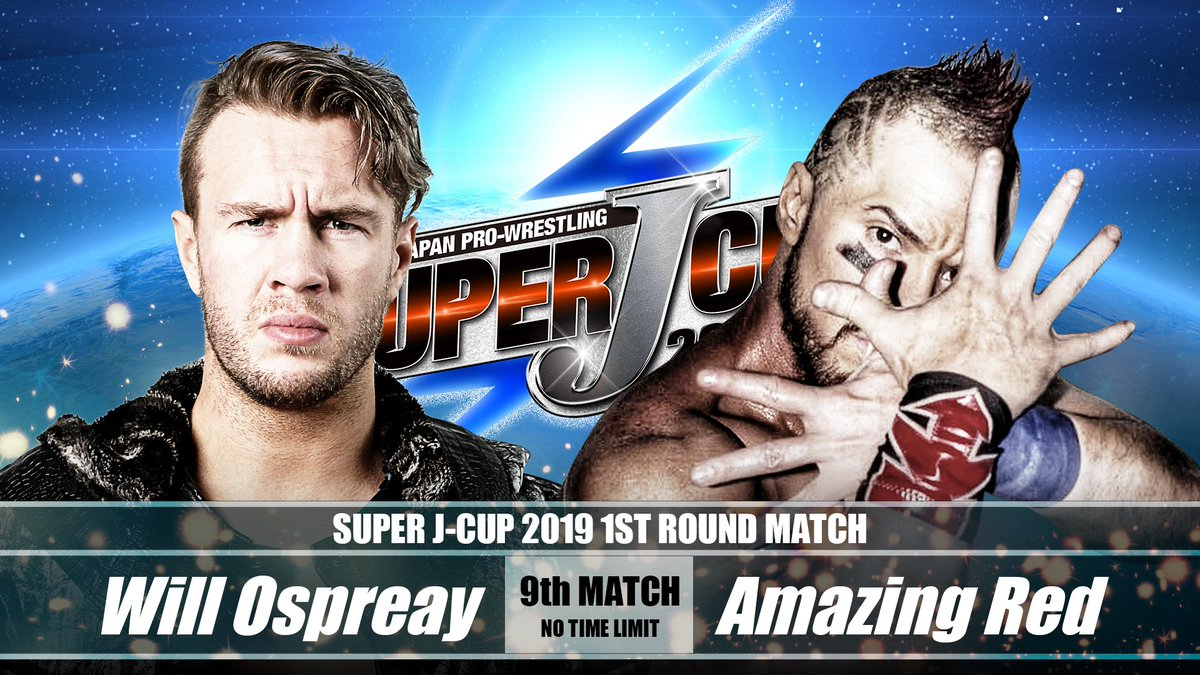 Tacoma!   SUPER J-CUP 2019 is one week away!  Who do you have in this half of the first round bracket?  #njpw #SJCUP<br>http://pic.twitter.com/CNrk6Kn2ek