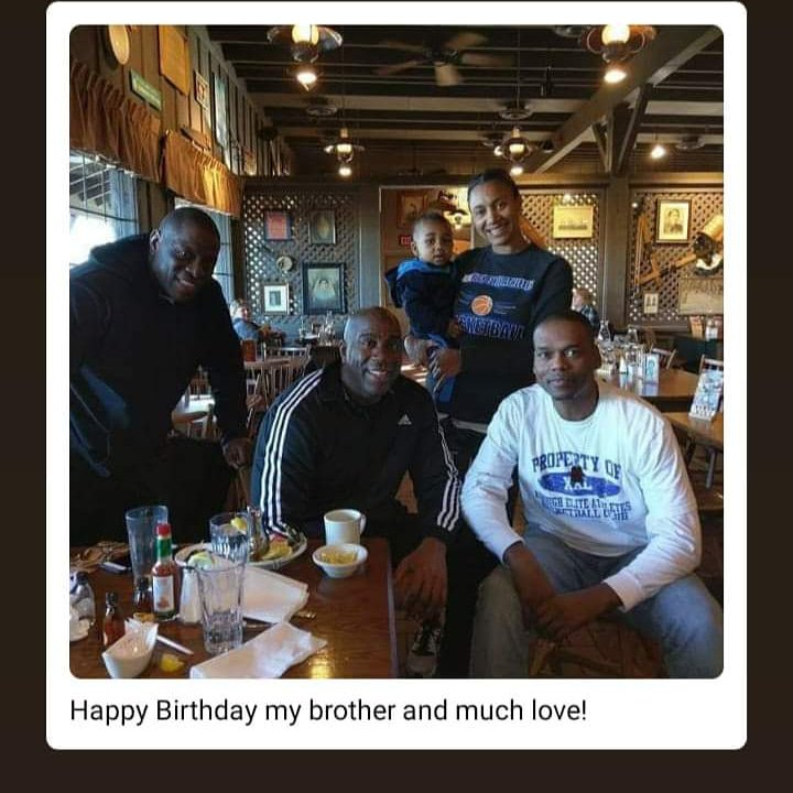 """A.E.A let\s wish a happy and blessed 60th birthday to Earvin \""""Magic\"""" Johnson!"""
