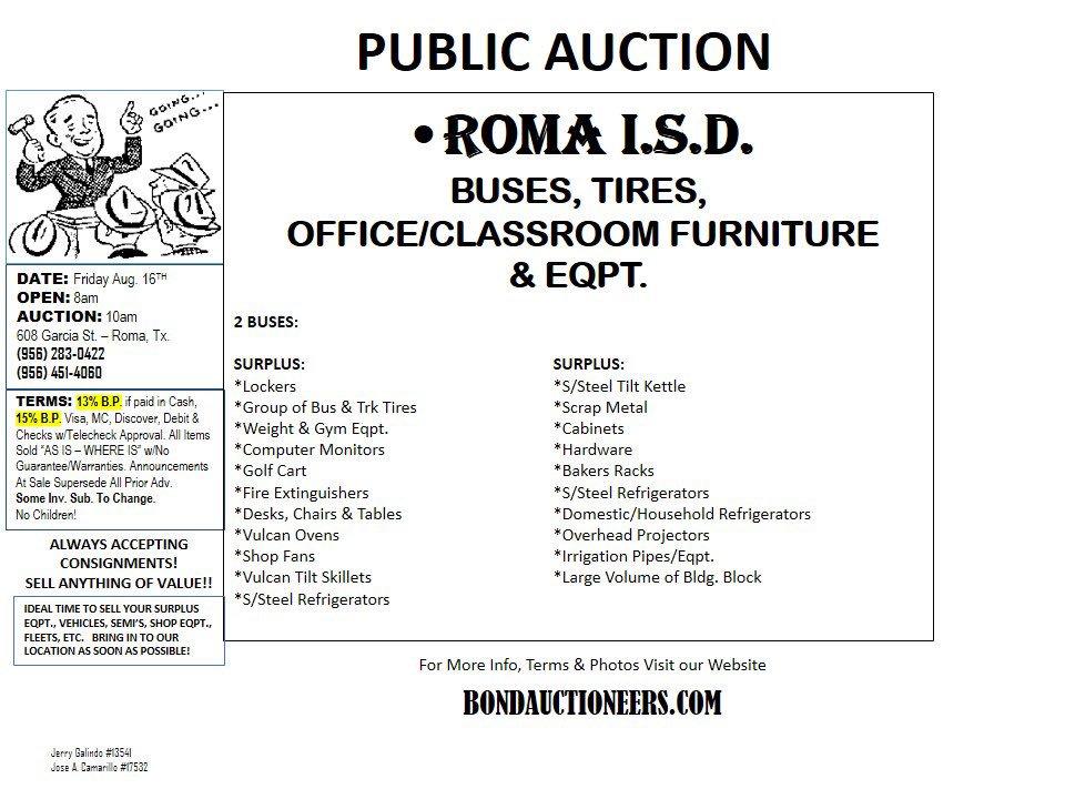BOND & BOND AUCTIONEERS, LLC on Twitter: