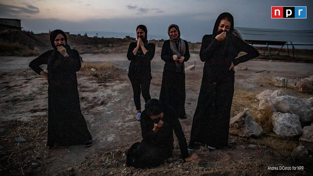 Five years after their loved ones were massacred by ISIS, members of the Yazidi community continue to mourn in Iraq, @janearraf reports.
