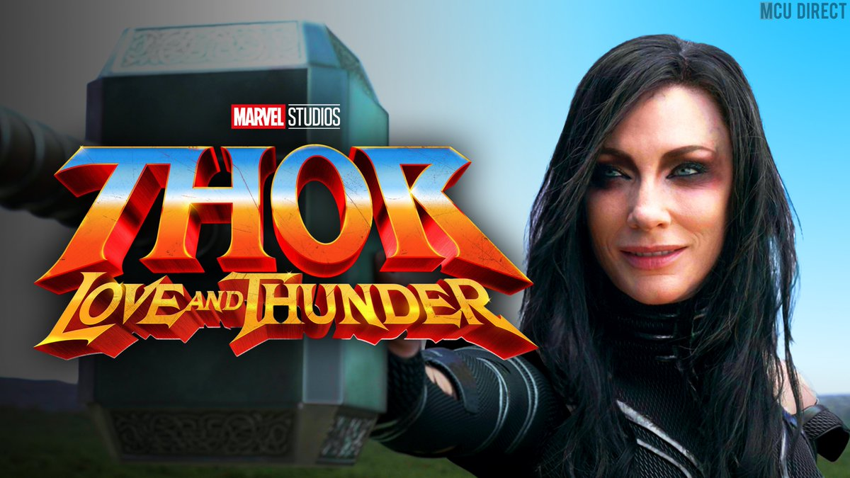 Actress Cate Blanchett has expressed interest in reprising her role as Hela in #ThorLoveAndThunder: I'm here. bit.ly/2YZXTTu