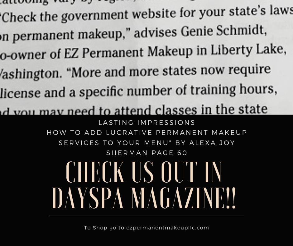 Check us out in DaySpa Magazine! Follow the link and go to page 60 to view the article! :) https://t.co/Hf3L5SlceF #microblading #pmu #eyebrows #brows #beauty #makeup #tattoo #micropigmentation #makeupartist #beautybloggers #lips #eyeliner #beautyno9 https://t.co/QlyLZcH8XJ