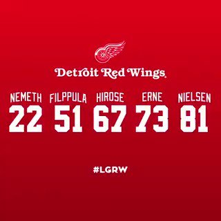 Detroit Red Wings @DetroitRedWings