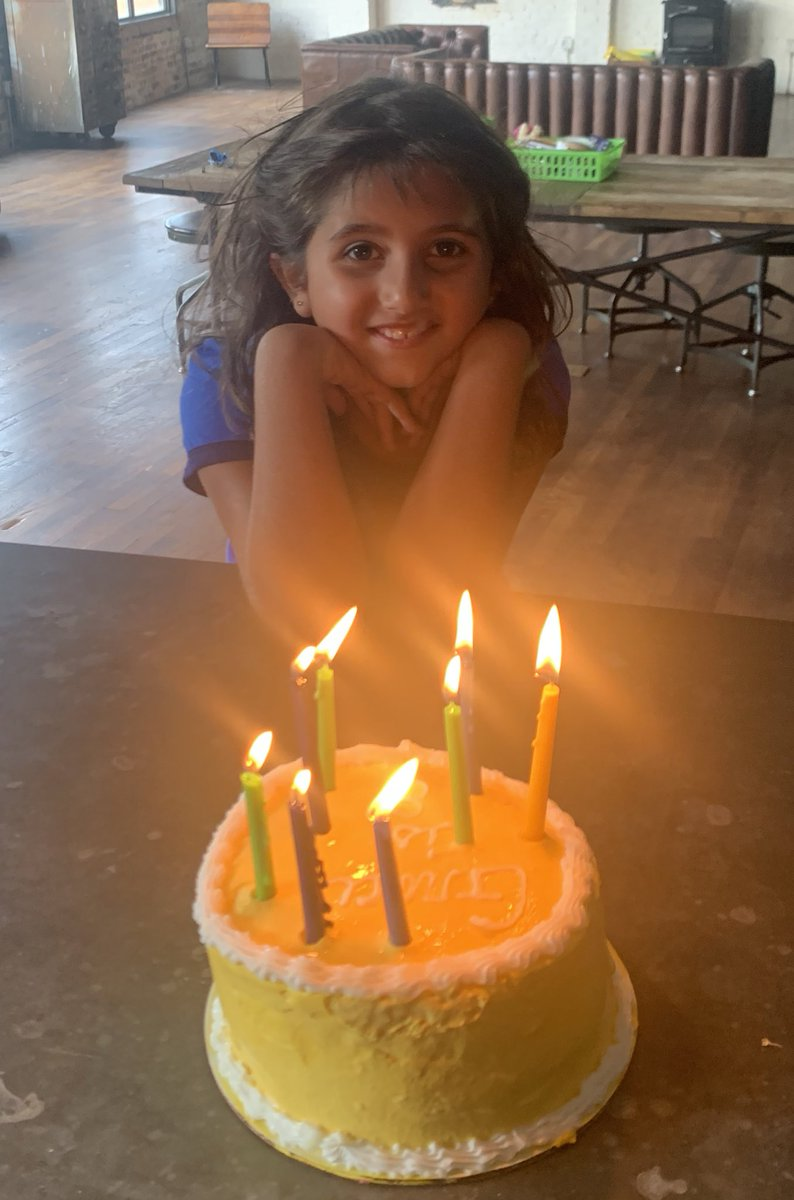 This is the greatest birthday present I ever got- celebrating HER 8th. ❤️🎂