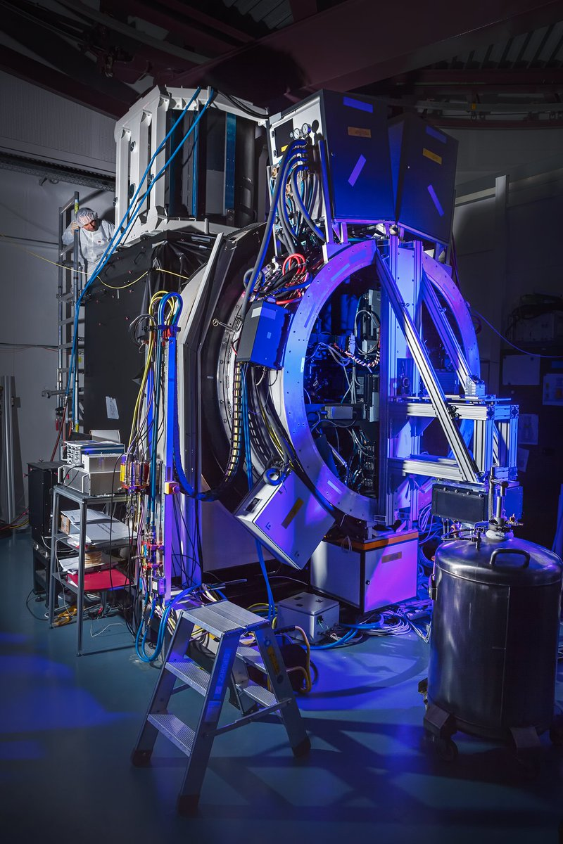 #TBT GALACSI instrument on the testbed at ESOs Headquarters, in 2016, before being shipped to Chile to join the VLT suite of instruments Credit: @ESO / M. Zamani socsi.in/smNJ4