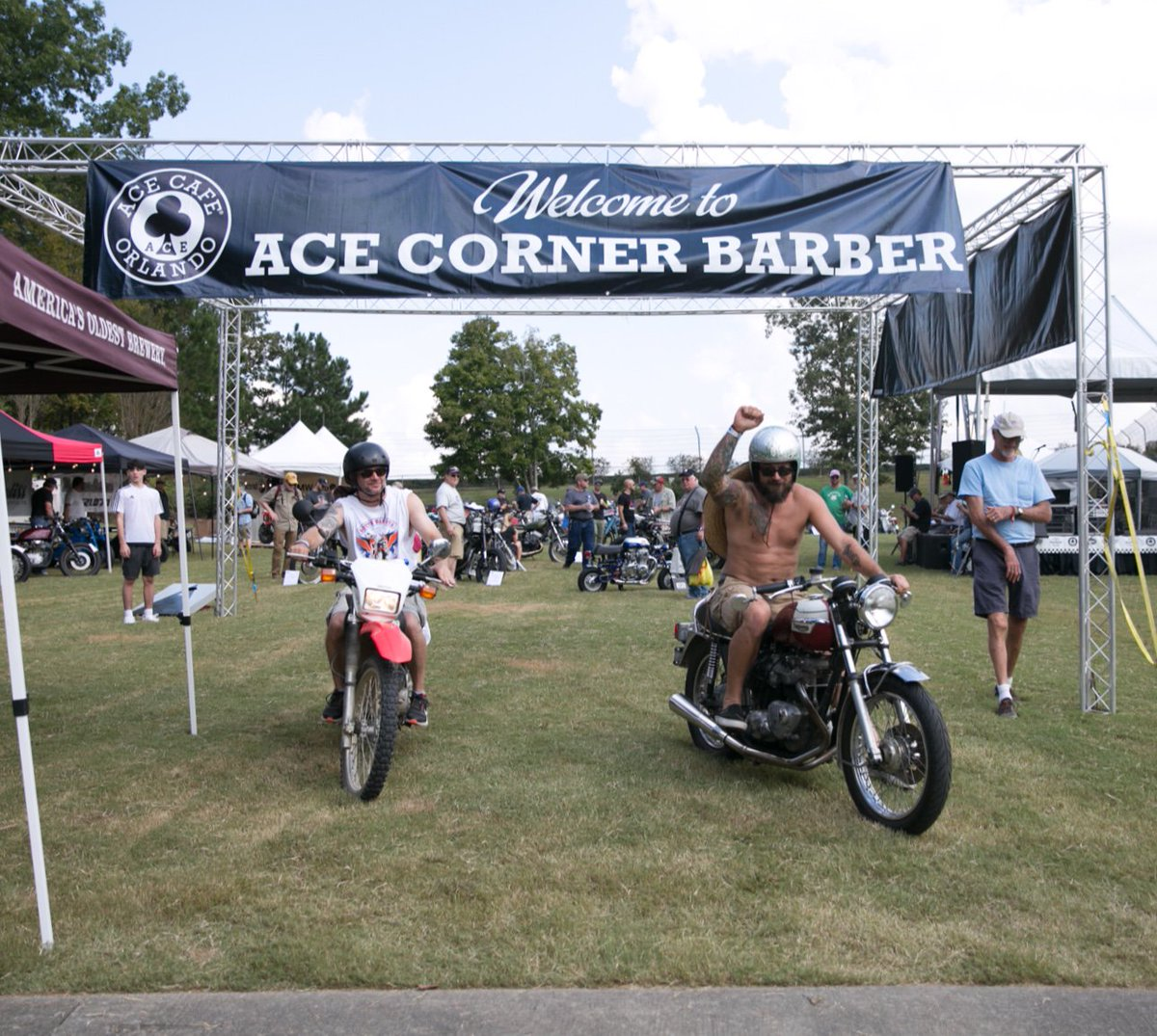 #ACECornerBarber...Be there or be square ⬛️ Upgrade your experience here ⬇ #BVF19 🏍 cuetoems.com/bvf_2019/Ticke…