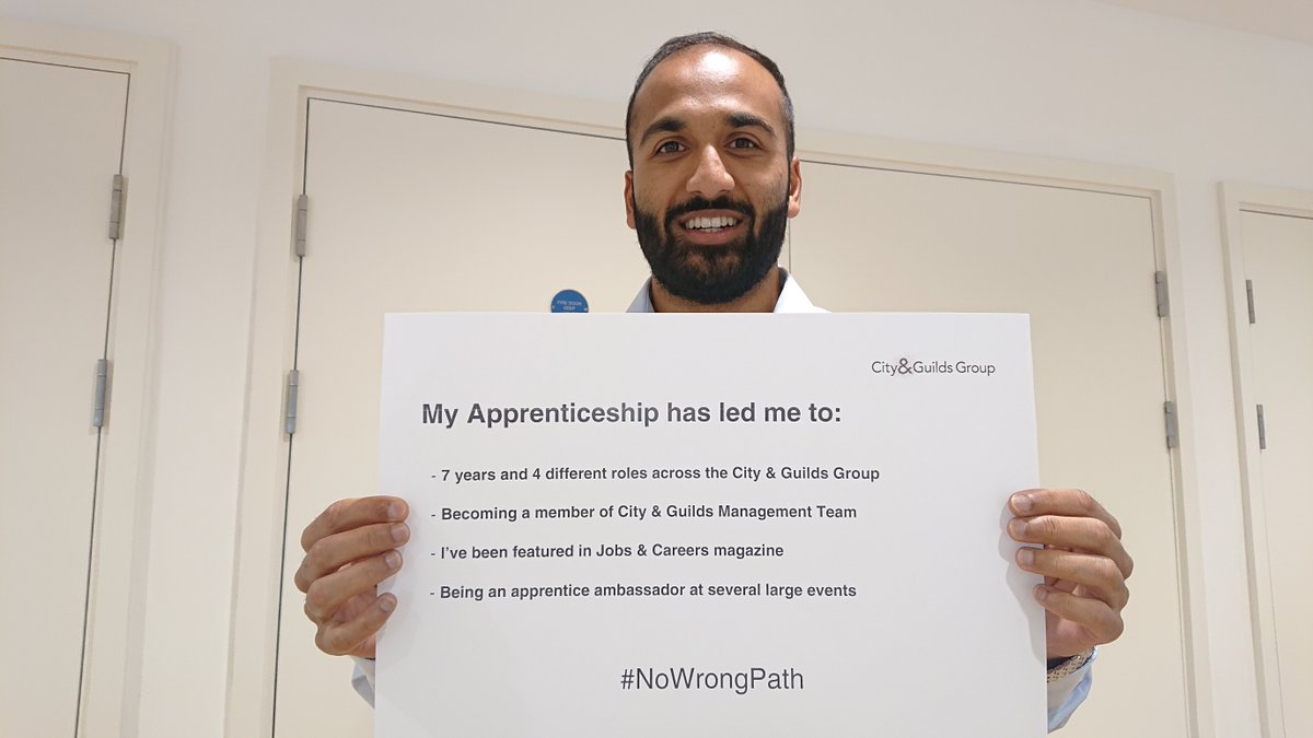 Anup, shares why his #apprenticeship has been so fulfilling, this #alevelresultsday week. #NoWrongPath