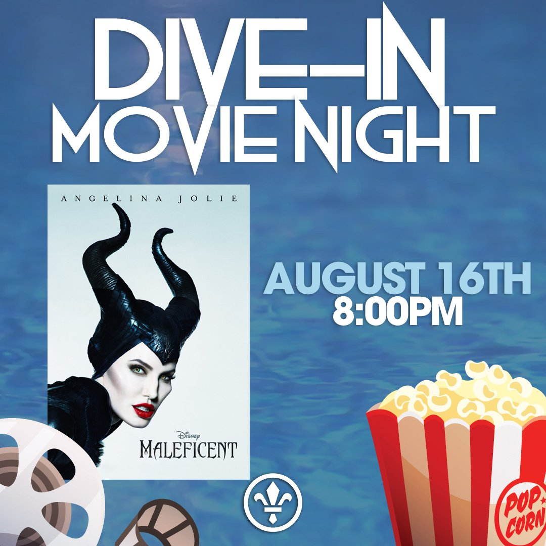 """Don't miss tomorrow night's Dive-In Movie Night at the Paseo Club pool! This week's showing: """"Maleficent"""" - join us for a fun family movie under the stars. #ThePaseoClub #DiveIn #Movie #Night #Film #Swim #Kid #Popcorn #Drinks #Food #Summer #Fun #SantaClaritapic.twitter.com/k794KiqNAR"""