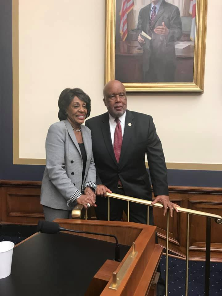 Happy Birthday to my friend and colleague, @RepMaxineWaters!