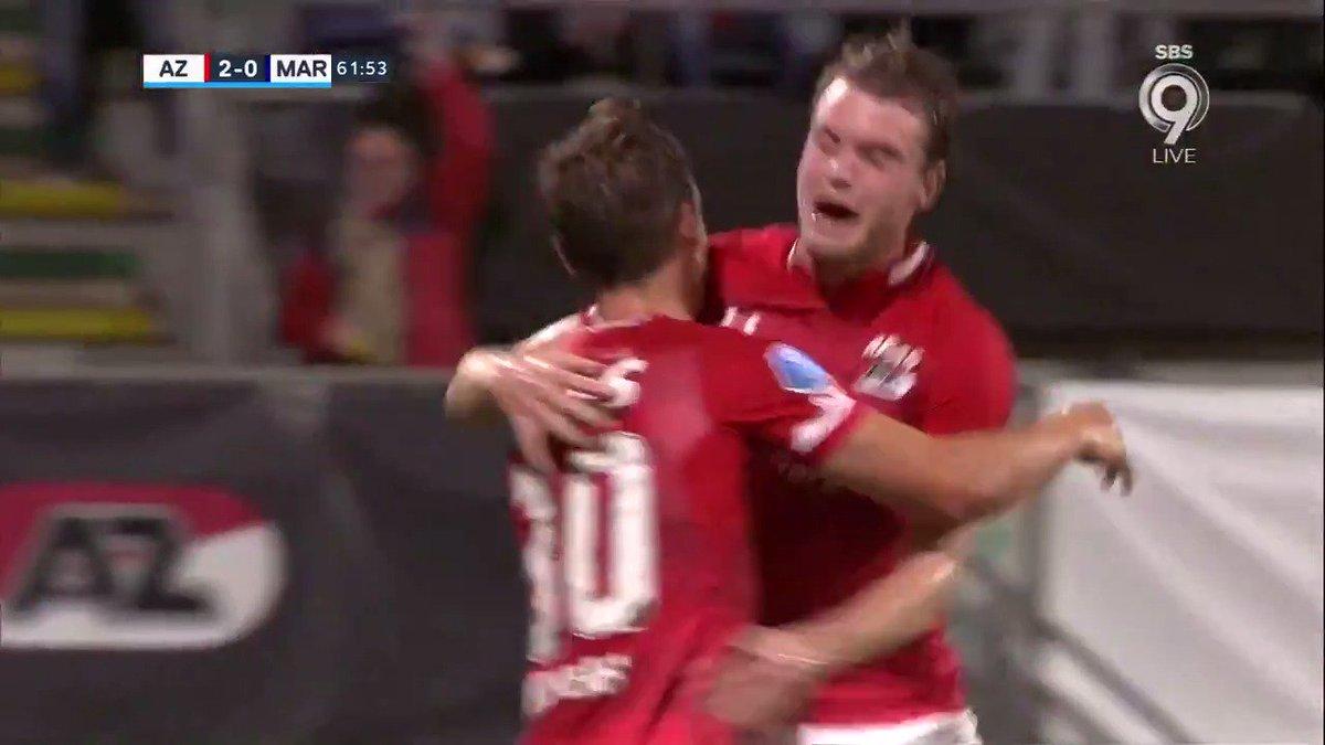 AZ - Marioepol 3-0 door Stijn Wuytens