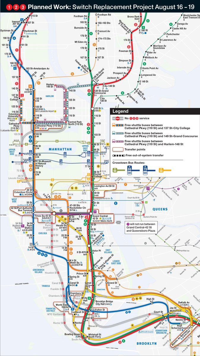 Subway Map D Train.Nyct Subway On Twitter Between The Bronx And The West Side Take D