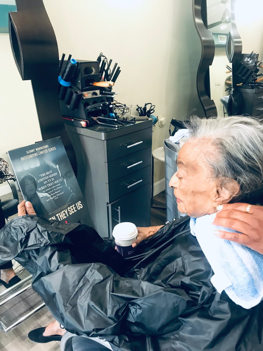 My Gramma is getting her birthday hair cut right now. The postwoman just came in and delivered @VanityFair. Gramma turned to the back cover.  Gram: Your name is here.  Me: Yes, ma'am.  That's my new project.  Gram: Oh my, Ava. This is very impressive. Good girl.   Day made.  <br>http://pic.twitter.com/Lx3WG39XtQ