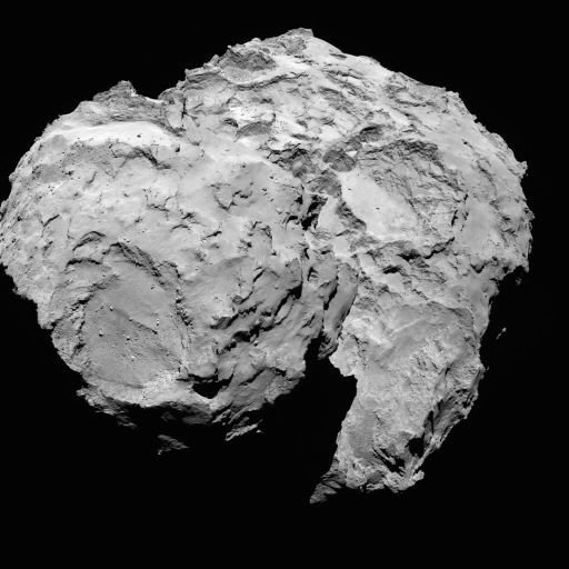 #OTD 5 years ago: 16 August 2014, @ESA_Rosettas OSIRIS camera took this pic of #Comet67P from a distance of 100 km @esascience esa.int/spaceinimages/…