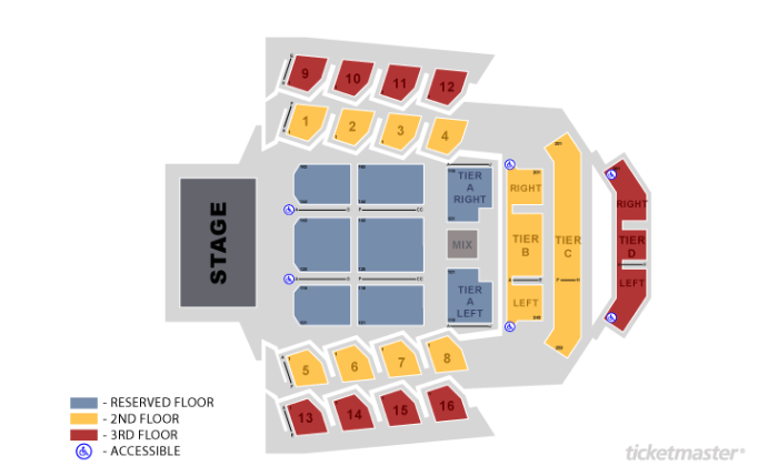 The Anthem On Twitter Heres The Seating Chart Being Used