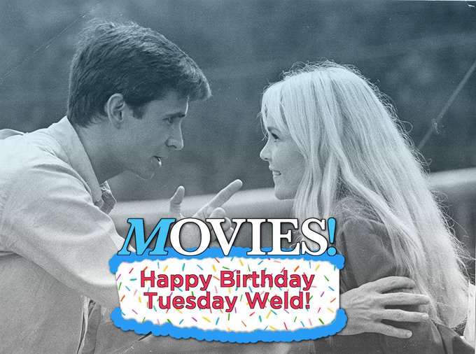 Happy Birthday Tuesday Weld!  Know what film this is?  HINT: It\s coming September...