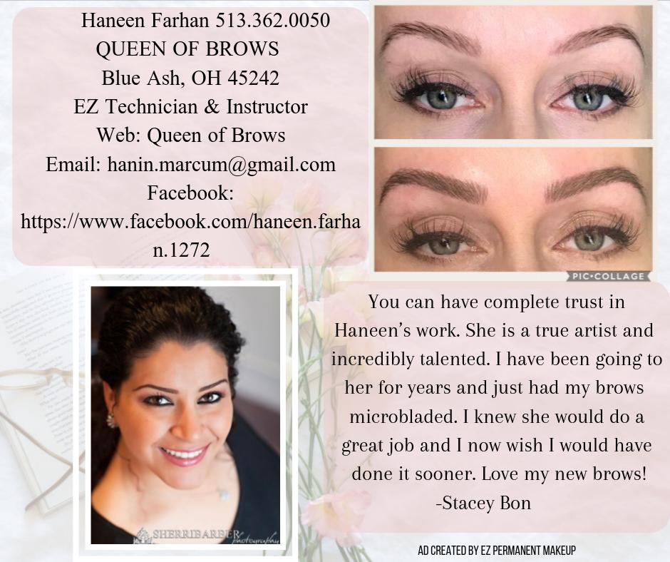 Come see Haneen Queen of Brows! https://t.co/h0IJoqWuw3 #microblading #pmu #eyebrows #brows #beauty #makeup #tattoo #micropigmentation #makeupartist #beautybloggers #lips #eyeliner #BeautyNo9 https://t.co/ur8aiOV0DJ