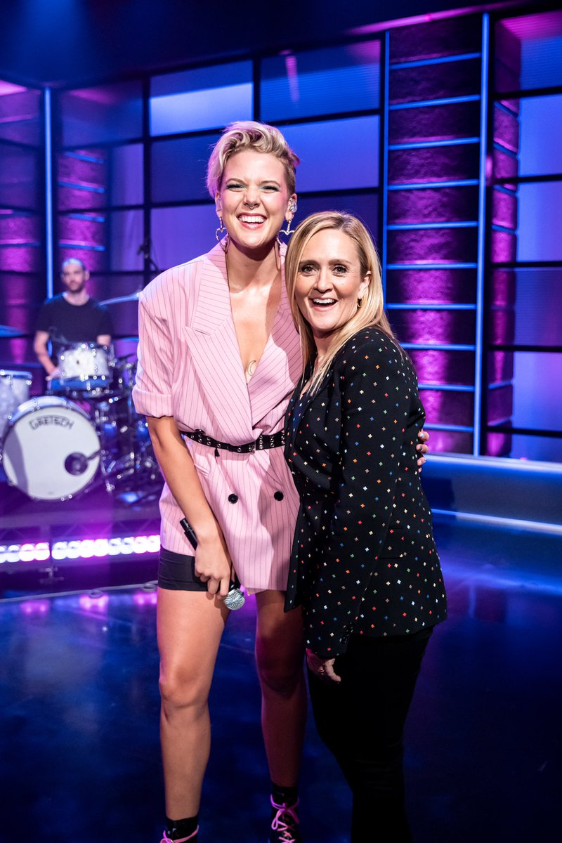 .@bettywho, we'll excuse your language if you promise to come back to our show again!