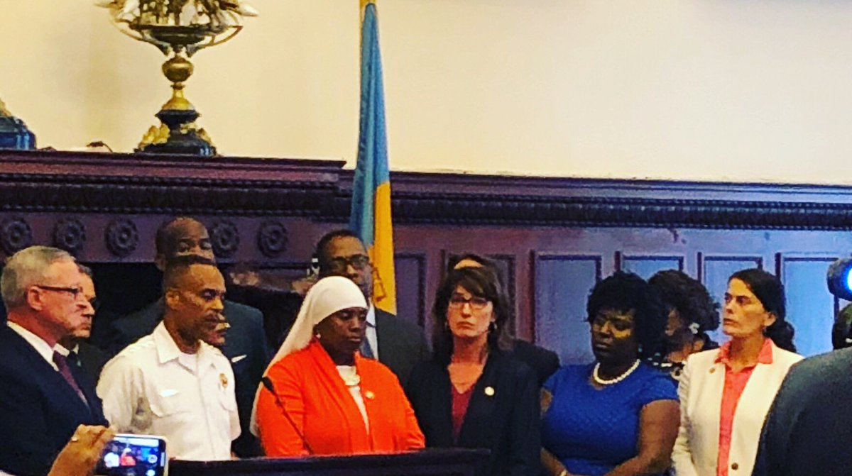 #EnoughIsEnough Today I stood with city, state and federal officials to call for lifesaving gun control legislation.