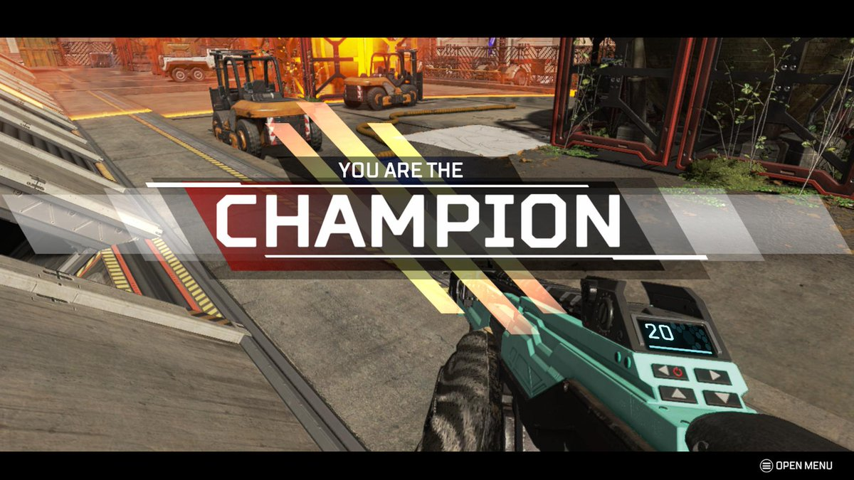 Looking at a SOLO Apex Champion!!!!!! #ApexLegends #XboxShare