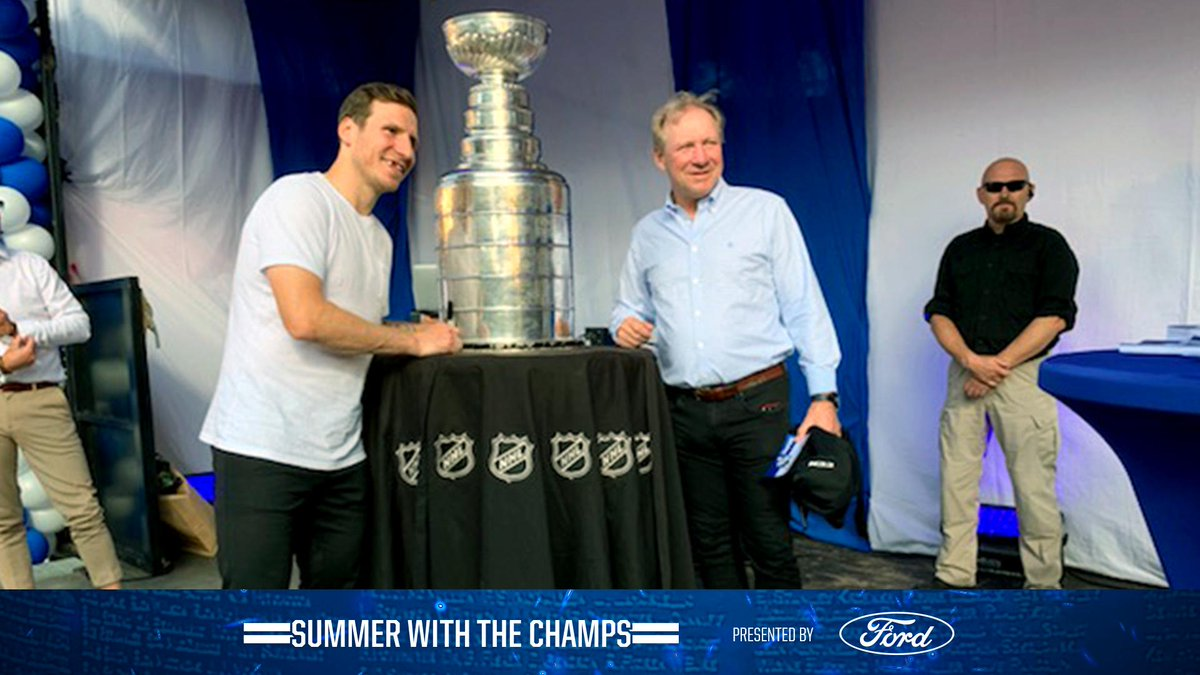 Father and son. #StanleyCup