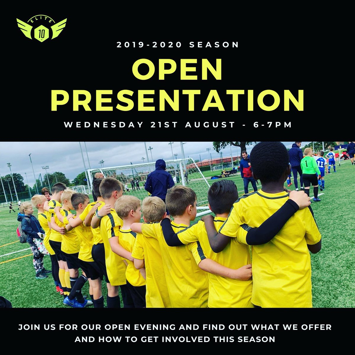 On Wednesday 21st August we will be holding our annual open evening for the 2019-2020 season to tell you all about our huge plans for the season ahead. The presentation will be held in the bar at Tooting & Mitcham FC, Bishopford Road, SM4 6BF from 6-7pm. Everyone Welcome! 🔟⚽️