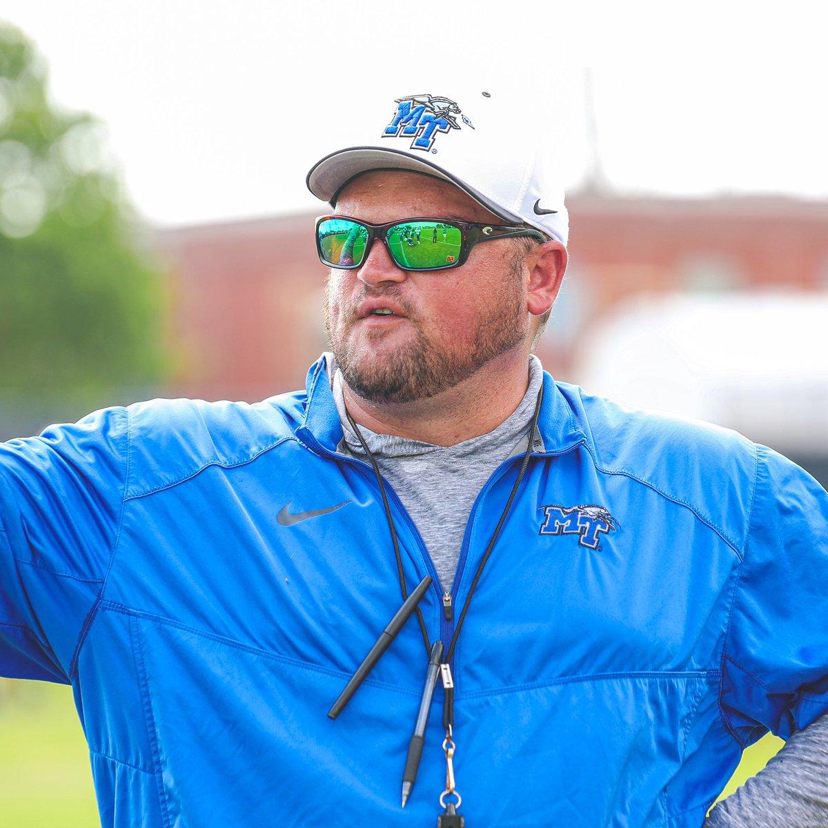 247 Sports ranked Coach Royston in their best 30 under 30! #BlueRaiders   #MT   #EATT